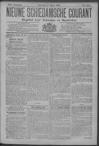 Nieuwe Schiedamsche Courant 1909-03-27