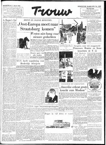 Trouw / De Rotterdammer 1955-07-07