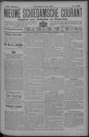Nieuwe Schiedamsche Courant 1917-06-13