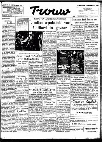 Trouw / De Rotterdammer 1957-09-20