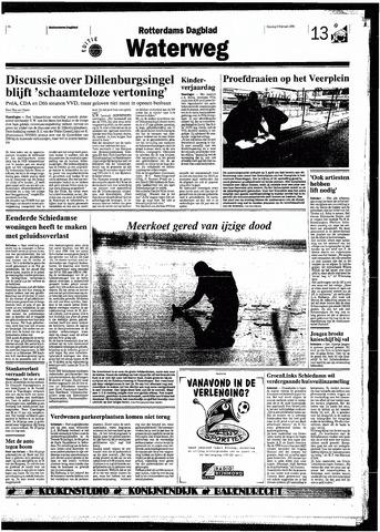 Rotterdamsch Nieuwsblad / Schiedamsche Courant / Rotterdams Dagblad / Waterweg / Algemeen Dagblad 1998-02-03