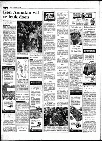 Rotterdamsch Parool / De Schiedammer 1968-07-05