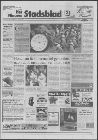 Het Nieuwe Stadsblad 2000-10-26