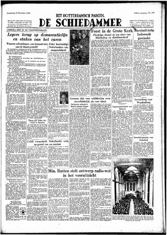 Rotterdamsch Parool / De Schiedammer 1948-12-23
