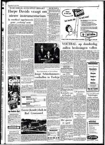 Rotterdamsch Parool / De Schiedammer 1961-05-10