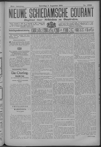 Nieuwe Schiedamsche Courant 1918-08-03