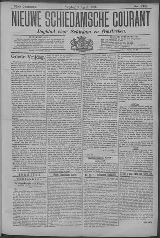 Nieuwe Schiedamsche Courant 1909-04-09