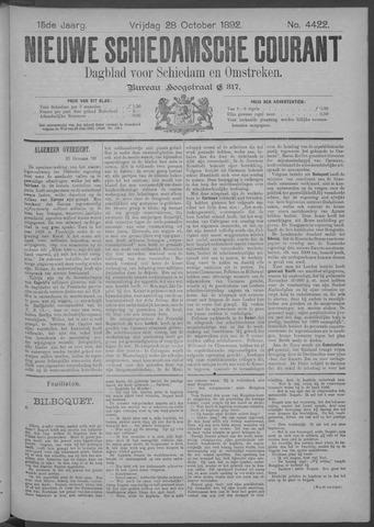Nieuwe Schiedamsche Courant 1892-10-28