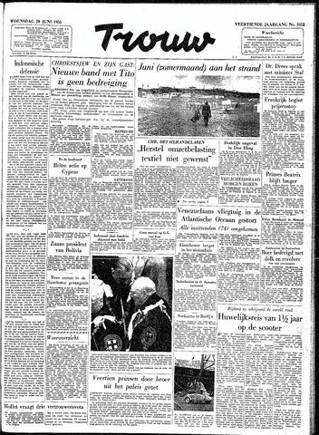 Trouw / De Rotterdammer 1956-06-20