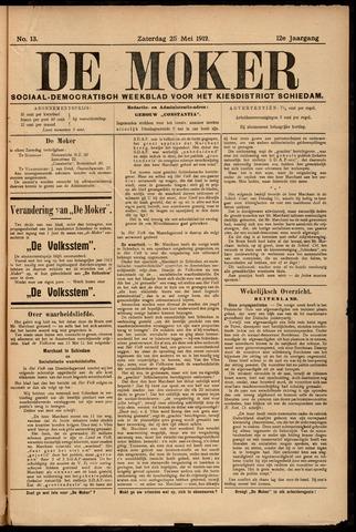 De Moker 1912-05-25