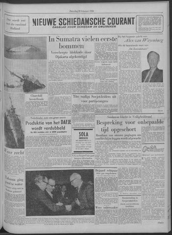 Nieuwe Schiedamsche Courant 1958-02-22