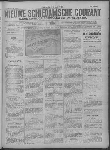 Nieuwe Schiedamsche Courant 1929-04-25