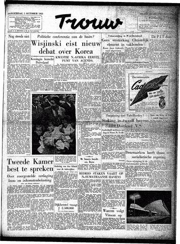 Trouw / De Rotterdammer 1953-10-01