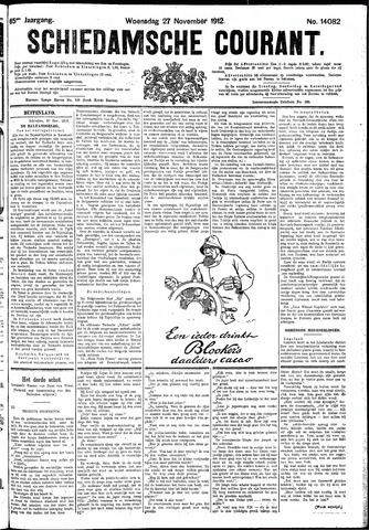 Schiedamsche Courant 1912-11-27