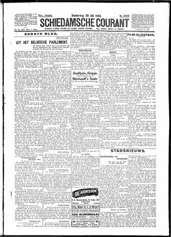 Schiedamsche Courant 1933-07-20