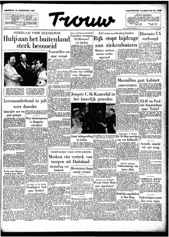 Trouw / De Rotterdammer 1957-08-16