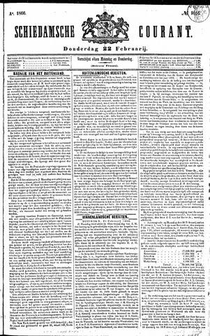 Schiedamsche Courant 1866-02-22