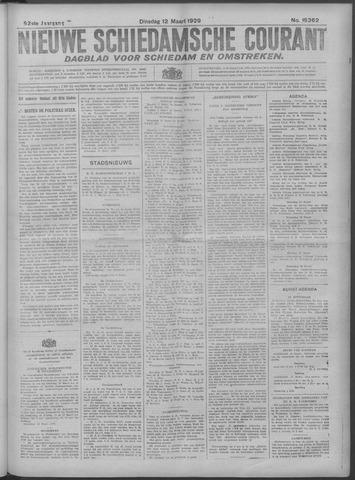 Nieuwe Schiedamsche Courant 1929-03-12