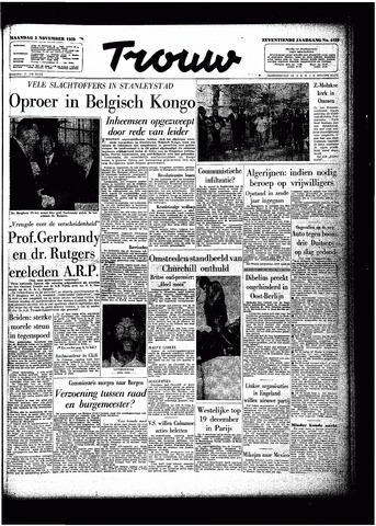 Trouw / De Rotterdammer 1959-11-02