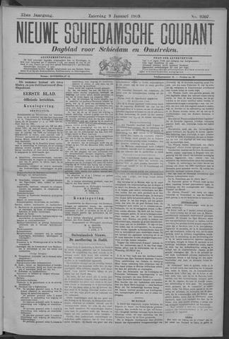 Nieuwe Schiedamsche Courant 1909-01-09