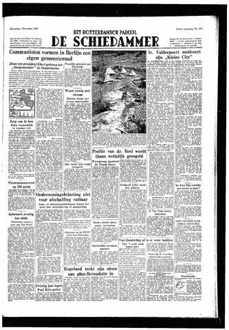 Rotterdamsch Parool / De Schiedammer 1948-12-01