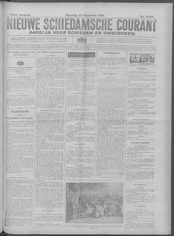 Nieuwe Schiedamsche Courant 1929-09-23