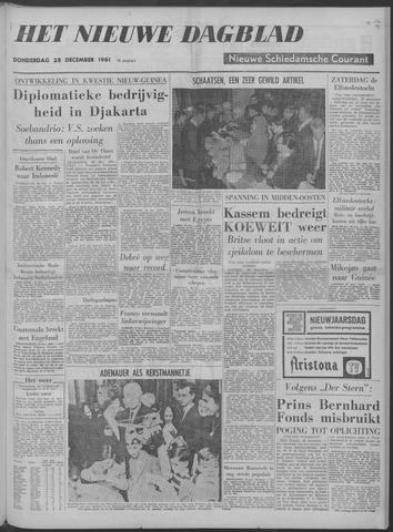 Nieuwe Schiedamsche Courant 1961-12-28