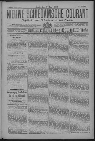Nieuwe Schiedamsche Courant 1913-03-27