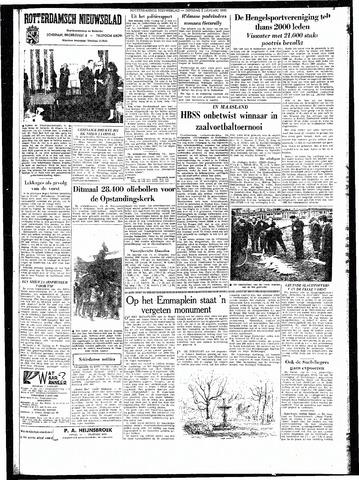 Rotterdamsch Nieuwsblad / Schiedamsche Courant / Rotterdams Dagblad / Waterweg / Algemeen Dagblad 1962