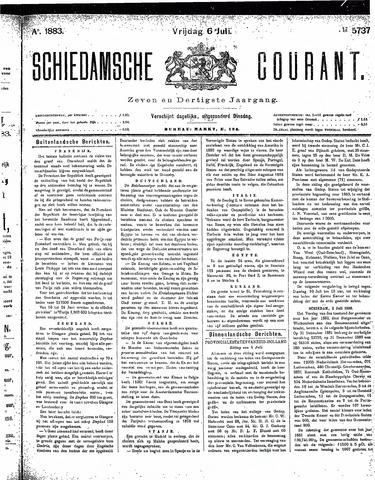 Schiedamsche Courant 1883-07-06