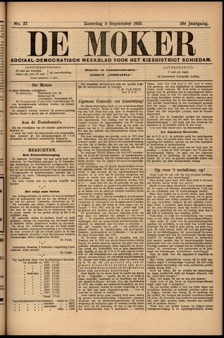 De Moker 1910-09-03