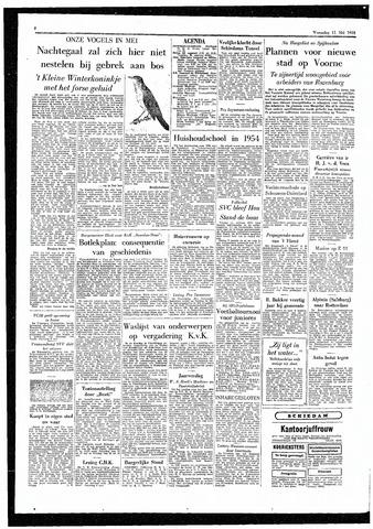 Rotterdamsch Parool / De Schiedammer 1955-05-11