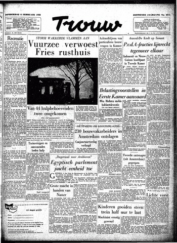 Trouw / De Rotterdammer 1958-02-06