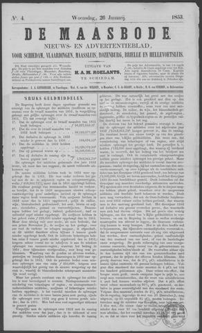 De Maasbode 1853-01-26