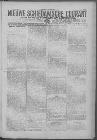 Nieuwe Schiedamsche Courant 1925-02-23
