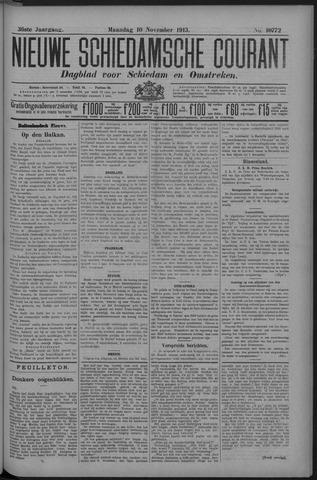 Nieuwe Schiedamsche Courant 1913-11-10