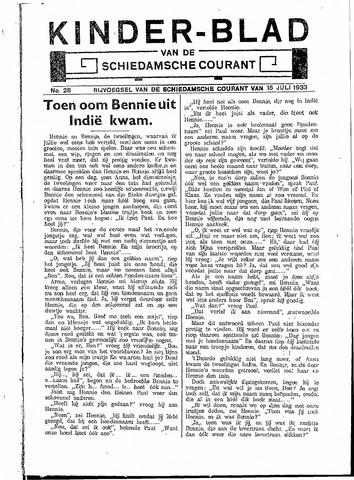 Schiedamsche Courant 1933-07-15