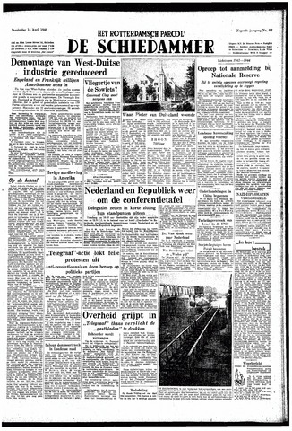 Rotterdamsch Parool / De Schiedammer 1949-04-14