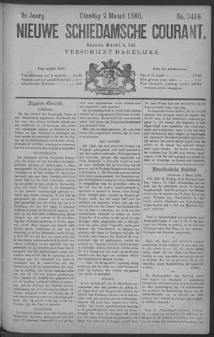 Nieuwe Schiedamsche Courant 1886-03-02