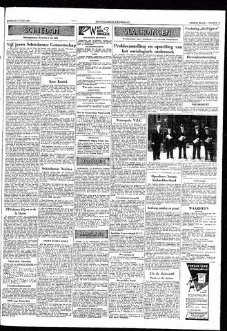 Rotterdamsch Nieuwsblad / Schiedamsche Courant / Rotterdams Dagblad / Waterweg / Algemeen Dagblad 1953-06-09