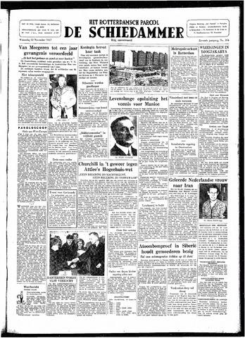 Rotterdamsch Parool / De Schiedammer 1947-11-12