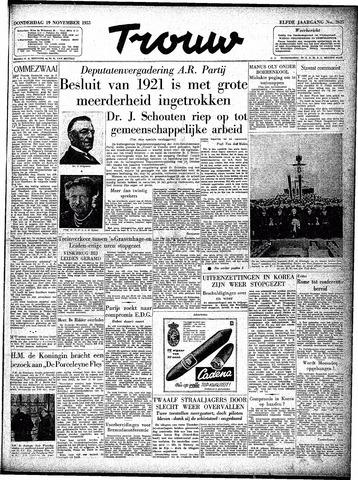 Trouw / De Rotterdammer 1953-11-19