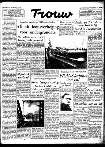 Trouw / De Rotterdammer 1957-10-01