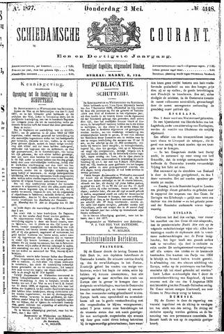 Schiedamsche Courant 1877-05-03