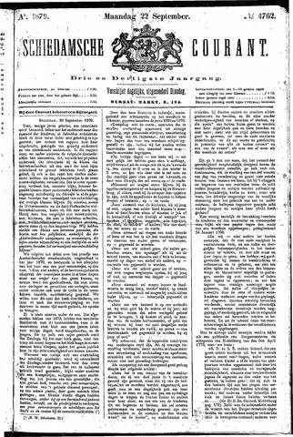 Schiedamsche Courant 1879-09-22