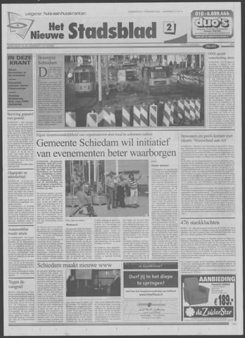 Het Nieuwe Stadsblad 2002-02-07
