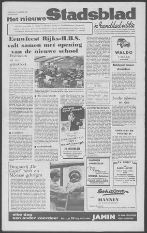 Het Nieuwe Stadsblad 1967-10-25