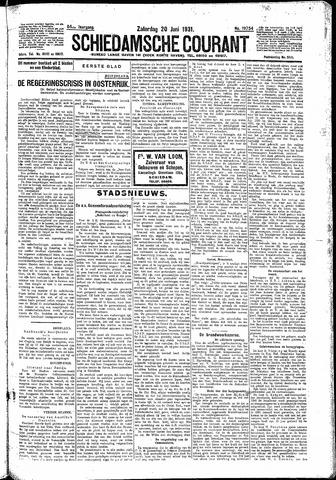Schiedamsche Courant 1931-06-20