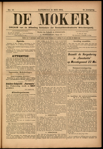 De Moker 1904-05-21