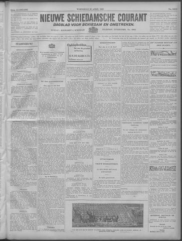 Nieuwe Schiedamsche Courant 1932-04-20